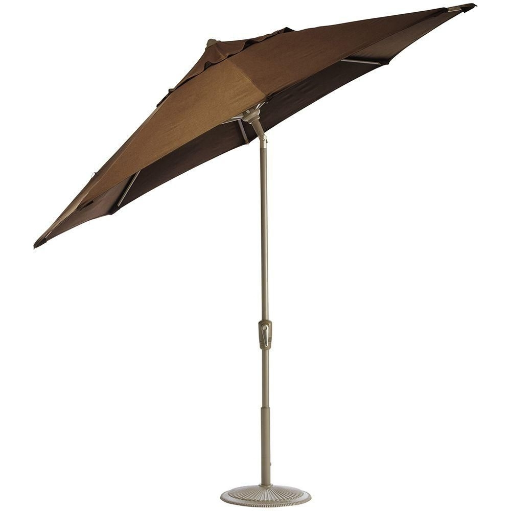 Most Current Sunbrella Teak Umbrellas Throughout Home Decorators Collection 6 Ft (View 15 of 20)