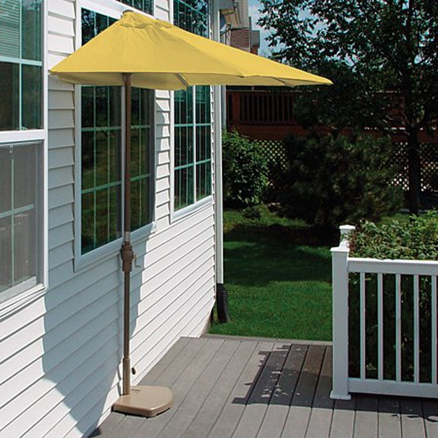 Most Current Wayfair Patio Umbrellas For Half Outdoor Umbrella Wayfair (View 7 of 20)