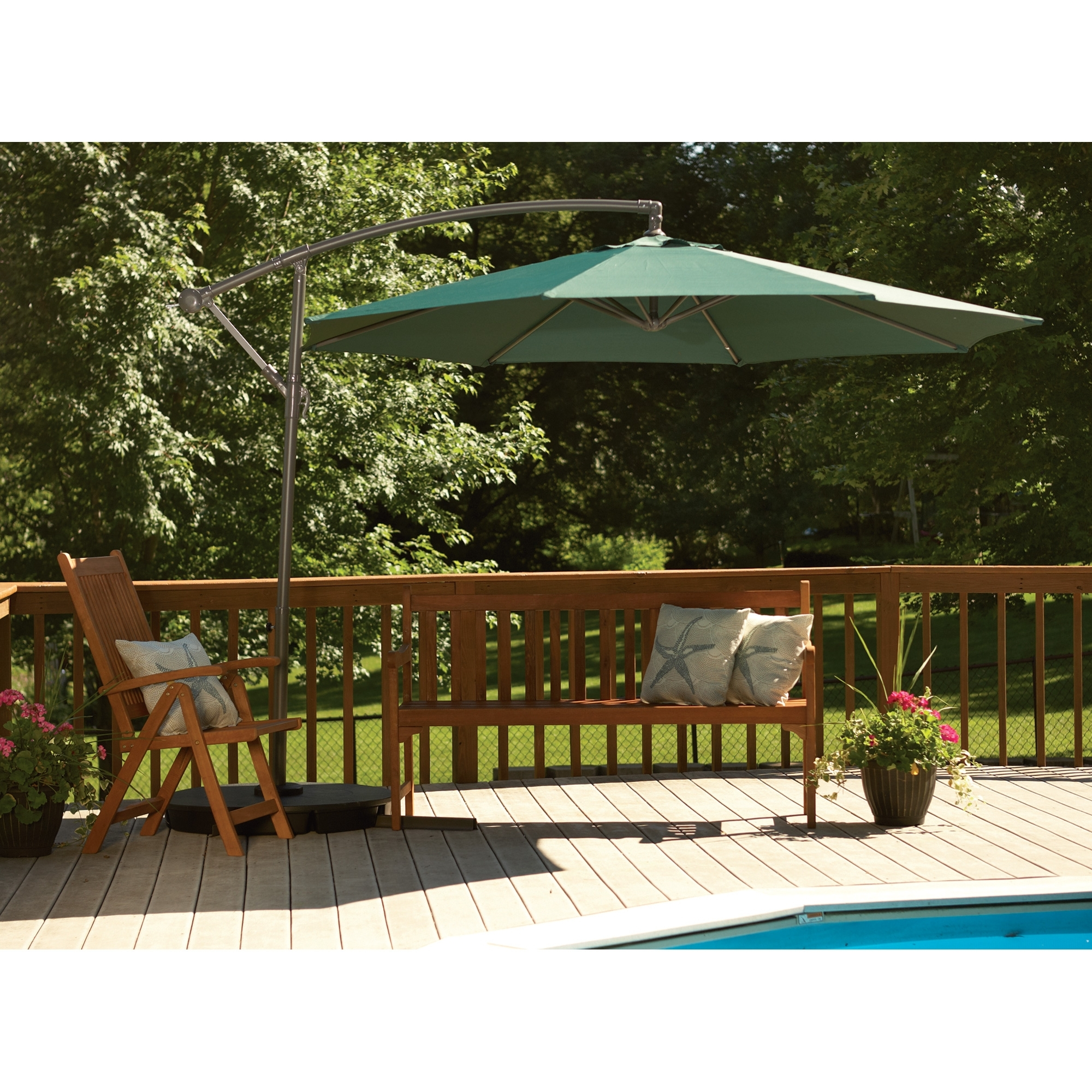 Most Popular 11 Patio Umbrella Costco.11 Ft Market Umbrella (View 6 of 20)