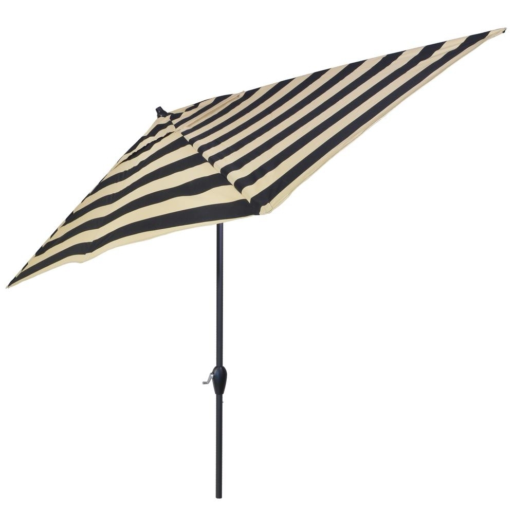 Most Popular 6 Ft Patio Umbrellas Inside Plantation Patterns 10 Ft. X 6 Ft (View 16 of 20)