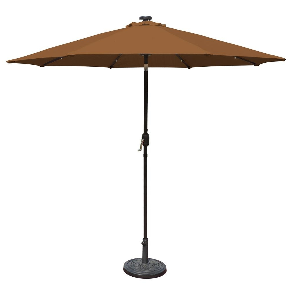 Most Popular Island Umbrella Mirage Fiesta 9 Ft (View 17 of 20)