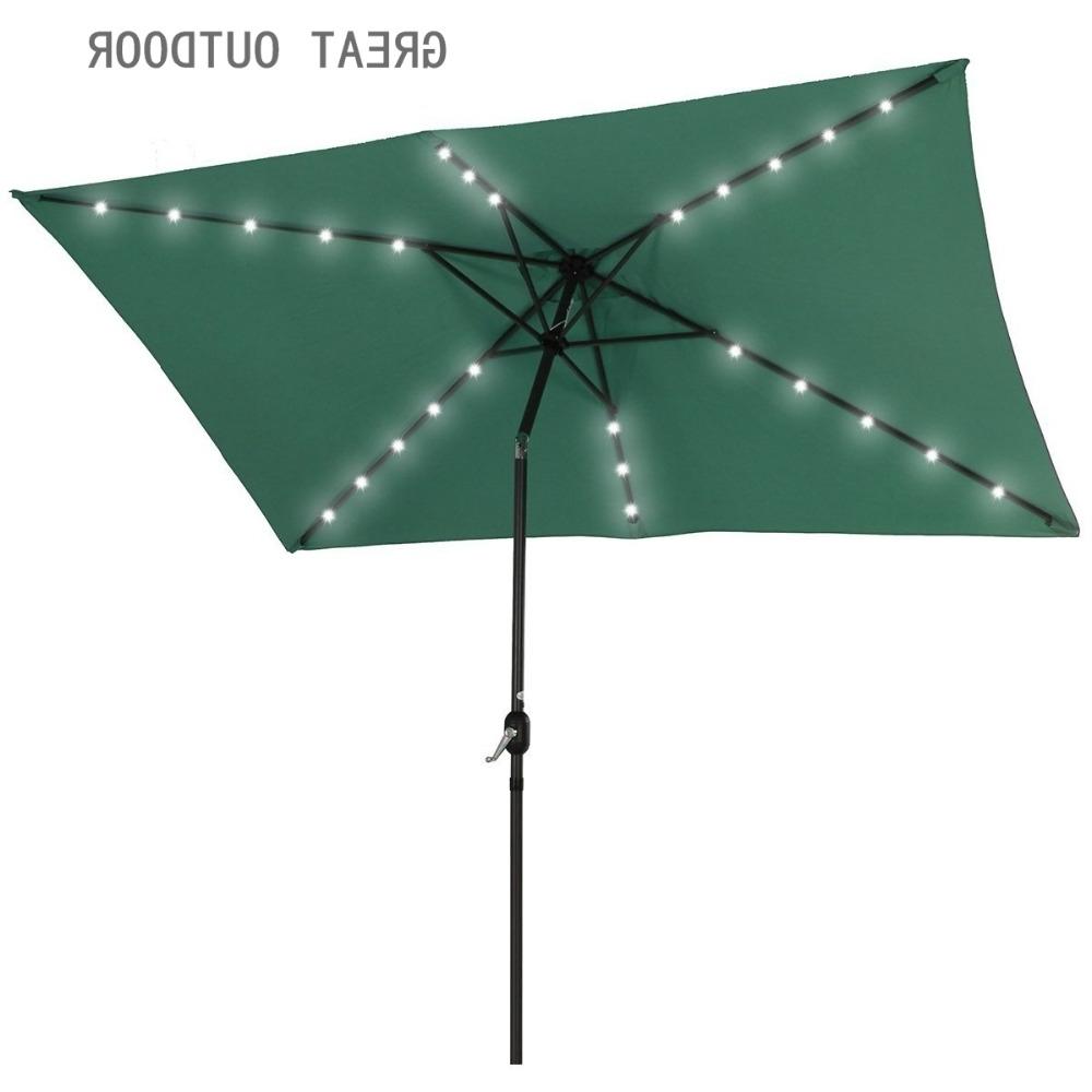 Most Popular Patio Umbrellas With Solar Led Lights With Outdoor Solar Led Light Patio Umbrella – Buy Outdoor Umbrella,solar (View 15 of 20)