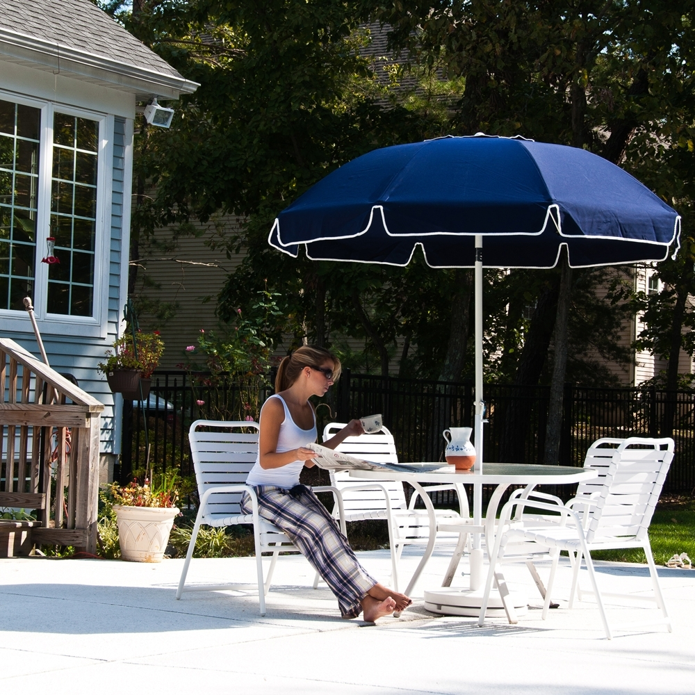 Most Popular Patio Umbrellas With Valance In (View 2 of 20)