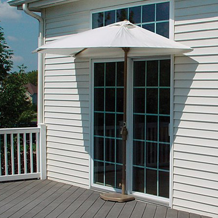 Most Popular Shop Blue Star Group Brella Natural Half Round  (View 14 of 20)