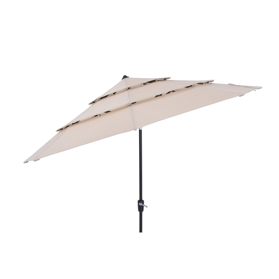 Most Popular Shop Patio Umbrellas At Lowes Throughout Jumbo Patio Umbrellas (View 10 of 20)