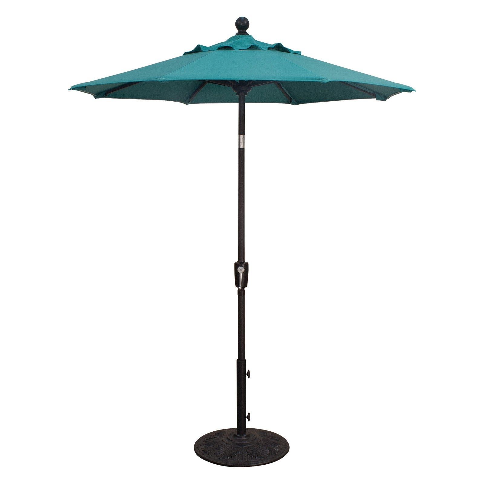 Most Popular Striped Sunbrella Patio Umbrellas For Treasure Garden 6 Ft (View 7 of 20)
