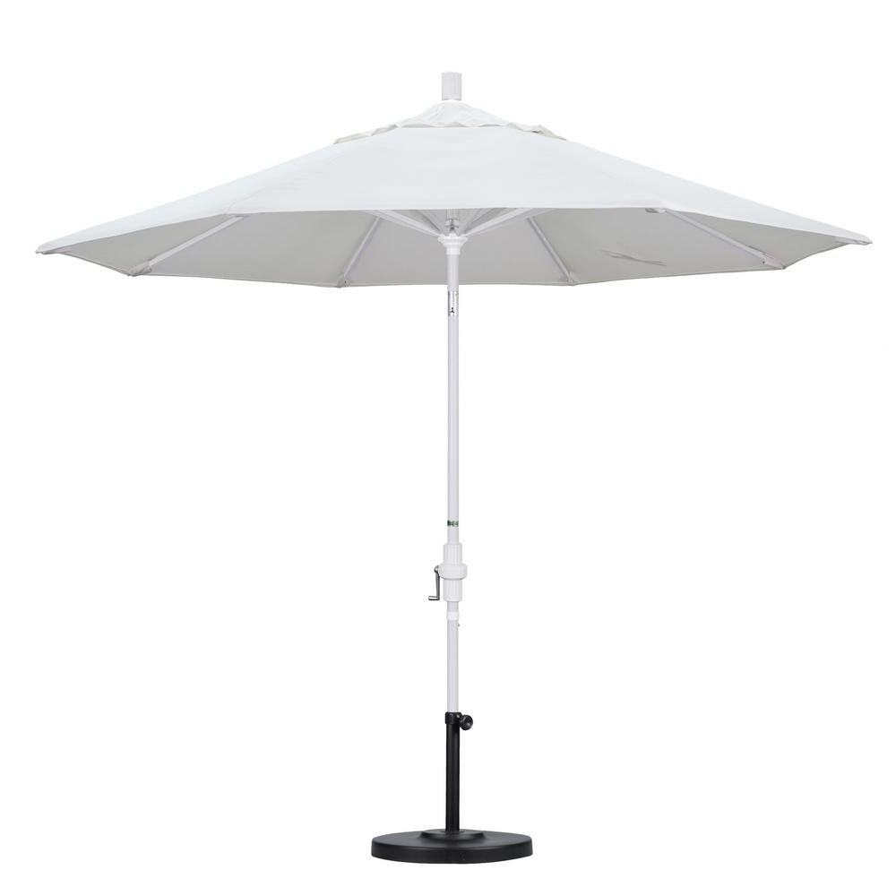 Most Recent Black And White Patio Umbrellas In California Umbrella 9 Ft (View 9 of 20)