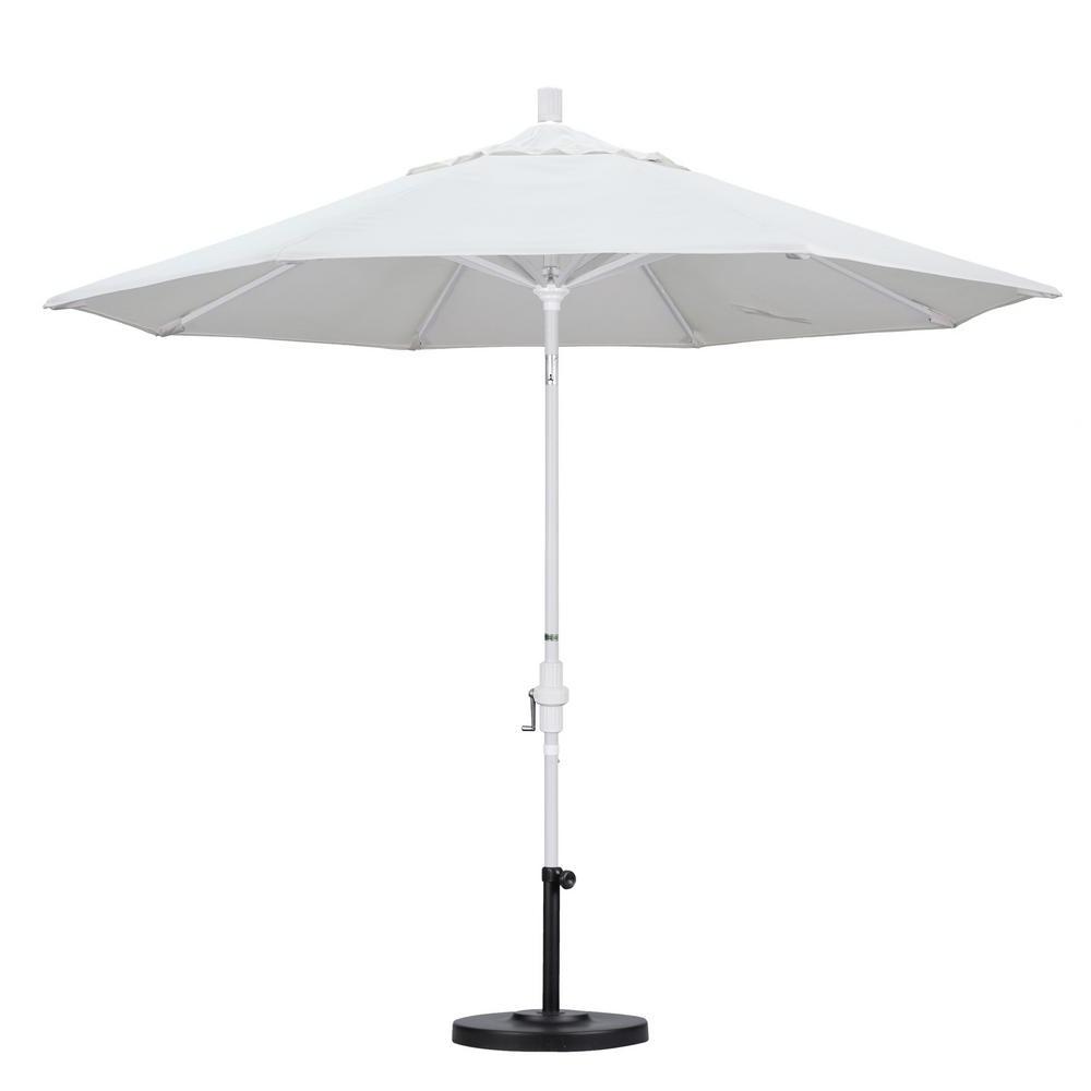 Most Recent Black And White Patio Umbrellas In California Umbrella 9 Ft (View 14 of 20)