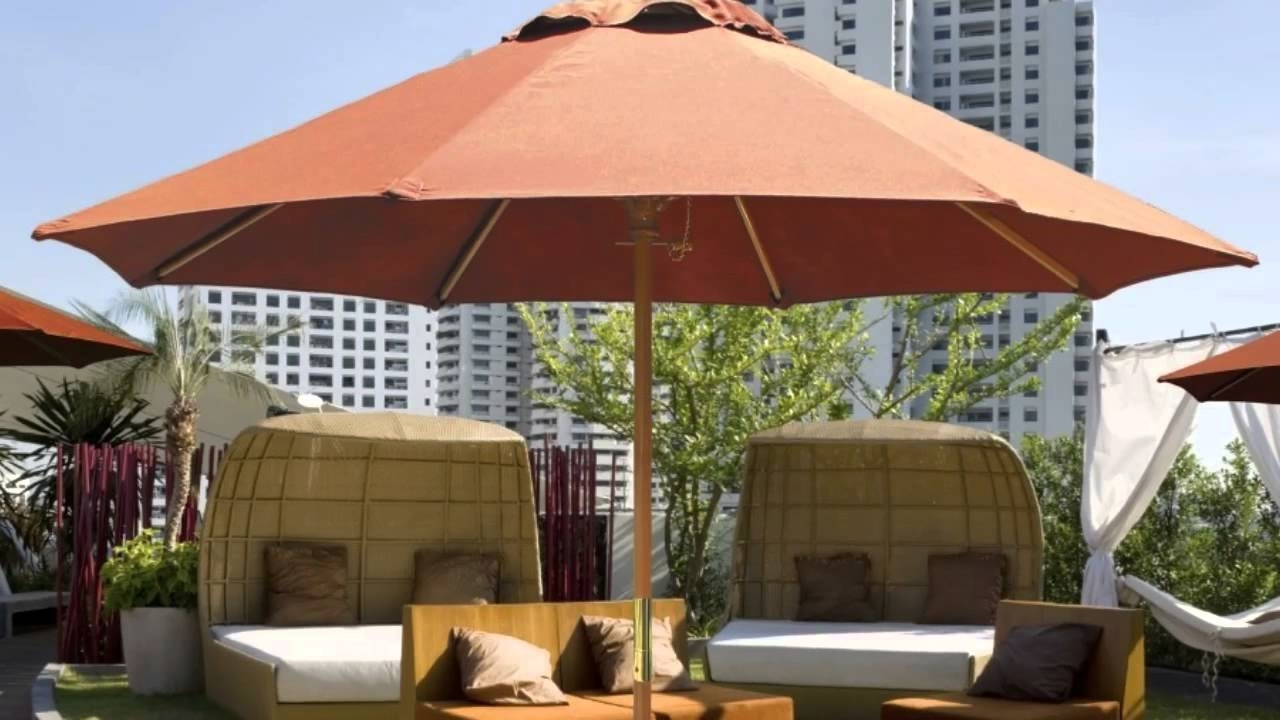 Most Recent Commercial Umbrellas For Sale – Perfect Best Solution For Shade Within Commercial Patio Umbrellas (View 15 of 20)