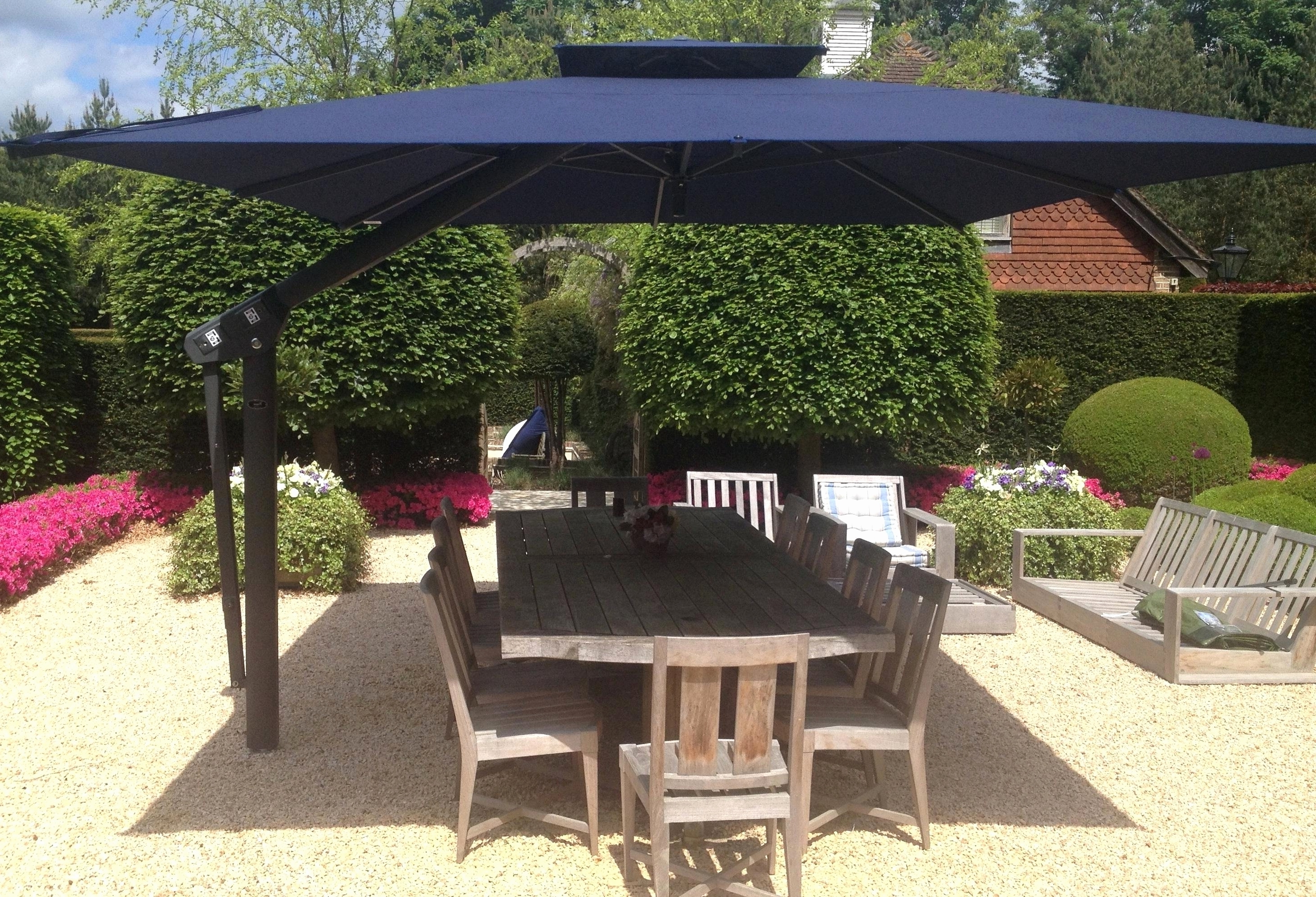 Most Recent Small Patio Umbrella Part 2 Outdoor Umbrellas – Theestatesga In Small Patio Tables With Umbrellas Hole (View 7 of 20)