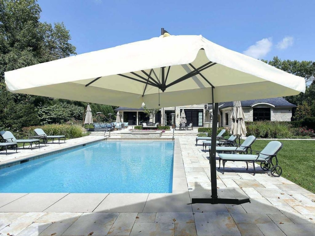 Most Recently Released Extra Large Patio Umbrellas With Regard To Patio Ideas ~ Nice Patio Ideas Furniture Ideal Patio Umbrellas Patio (View 16 of 20)