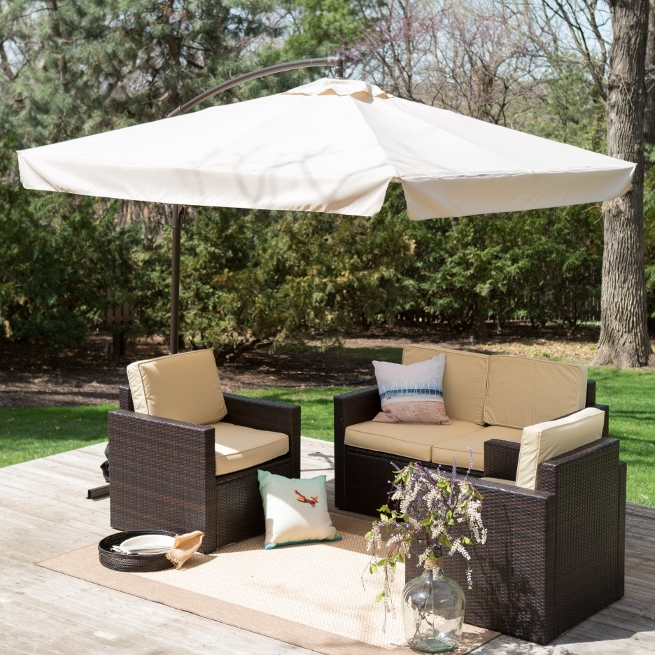 Most Recently Released Great Rectangle Patio Umbrella With Lights F44X On Most Luxury Inside Rectangle Patio Umbrellas (View 8 of 20)