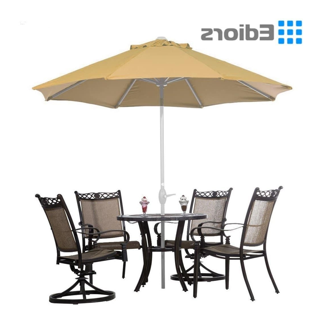 Most Recently Released Hanging Patio Umbrellas With Top 15 Best Offset Patio Umbrellas 2018 – Buyer's Guide (August (View 8 of 20)