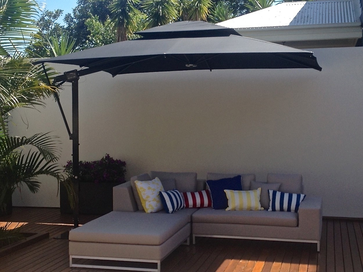 Most Recently Released Patio Deck Umbrellas Regarding Patio Deck Umbrella Mount : What Is So Great About Deck Umbrella (View 8 of 20)