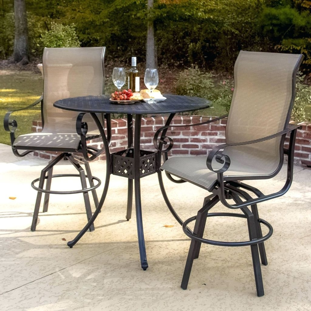 Most Recently Released Small Patio Tables With Umbrellas Hole Inside Patio Ideas ~ Small Round Patio Table With Umbrella Hole Lakeview (View 8 of 20)