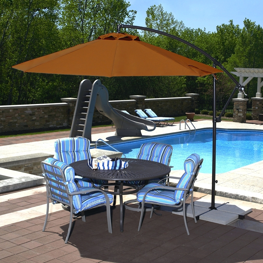 Most Recently Released Sunbrella Patio Umbrellas At Walmart Intended For Patio Ideas ~ Outdoor Patio Umbrellas Costco Offset Patio Umbrella (View 12 of 20)