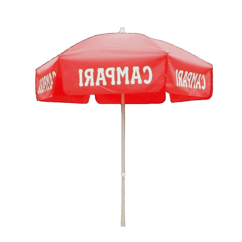 Most Up To Date 6 Ft Campari Vinyl Umbrella Patio Pole – Heininger 1381 – Umbrellas Throughout Vinyl Patio Umbrellas (View 12 of 20)