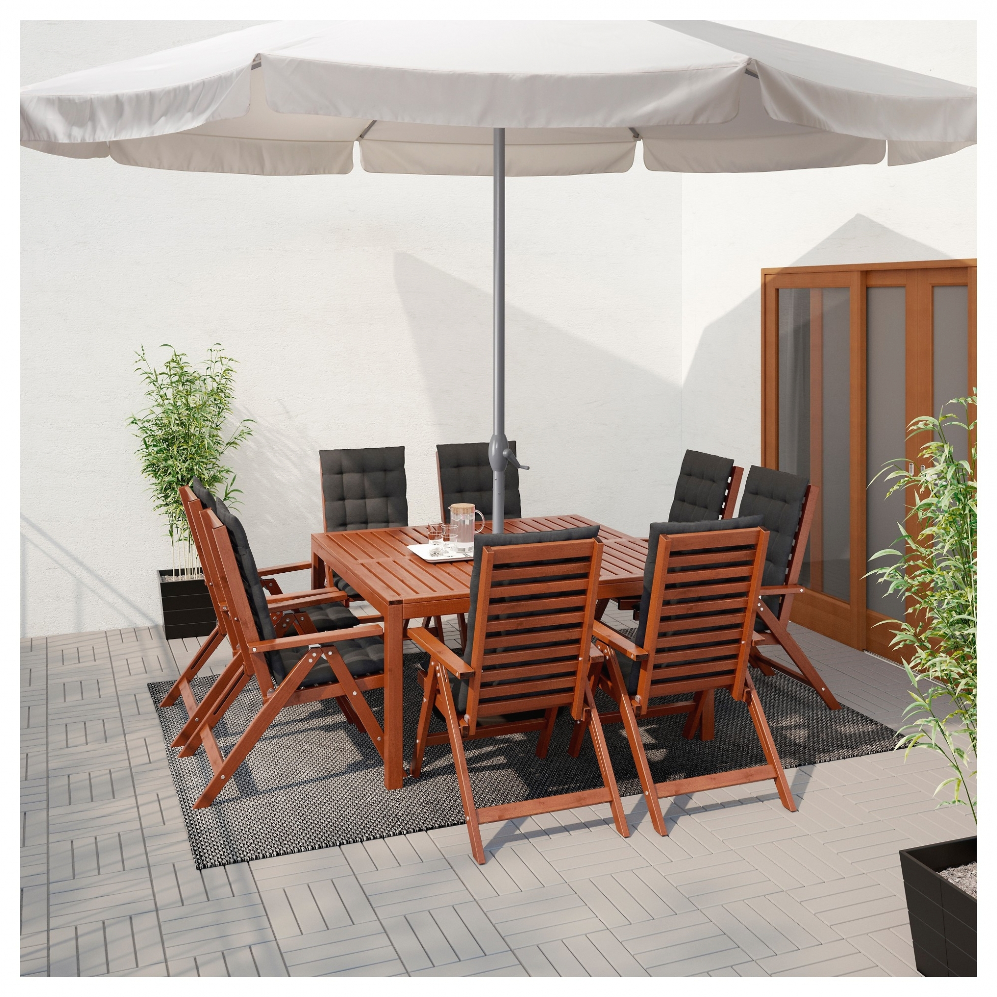 Most Up To Date Ikea Patio Umbrellas Throughout Interior Decor: Sears Patio Umbrella New Elegant Ikea Outdoor (View 14 of 20)