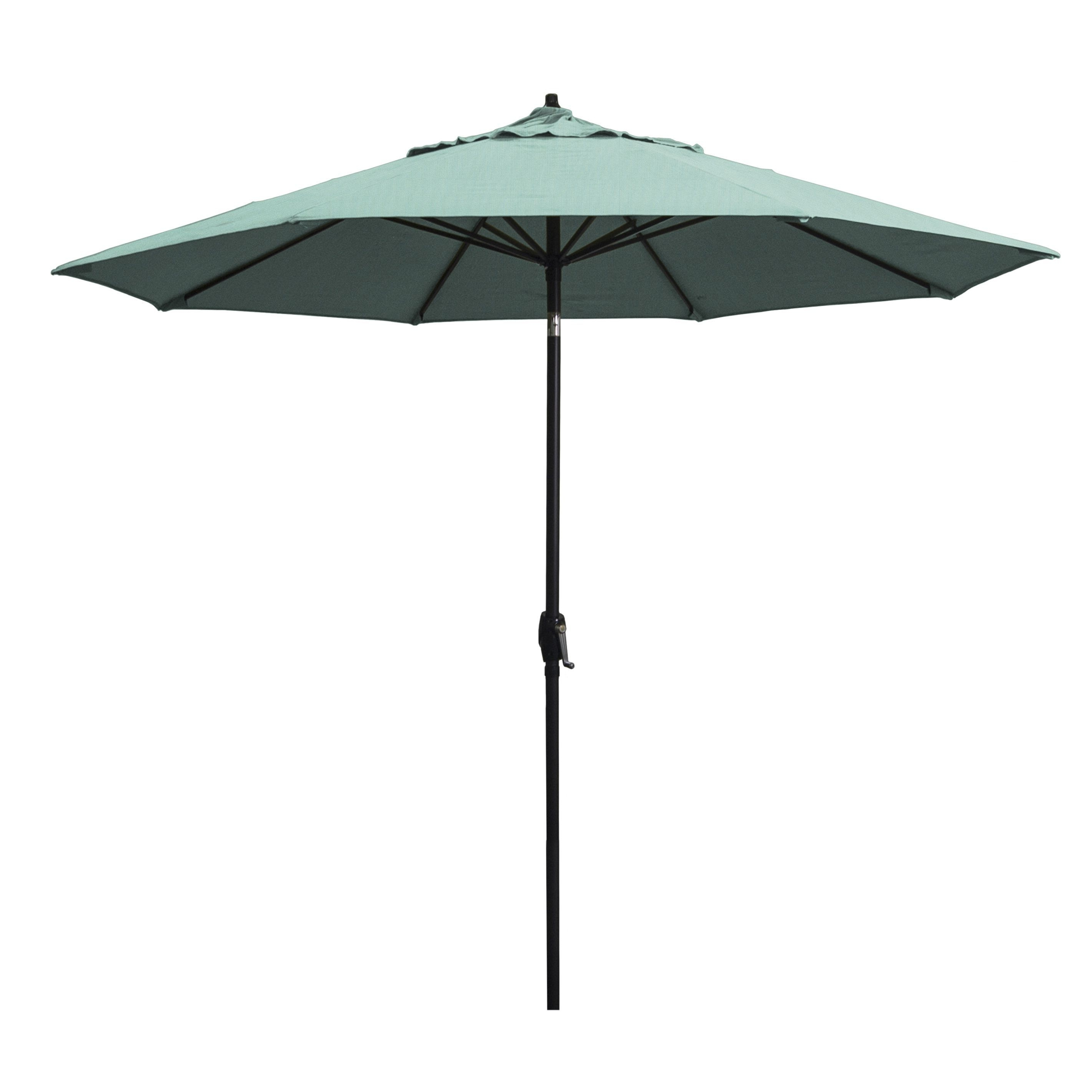 Most Up To Date Patio Umbrellas With Sunbrella Fabric With Astella 9' Rd (View 5 of 20)