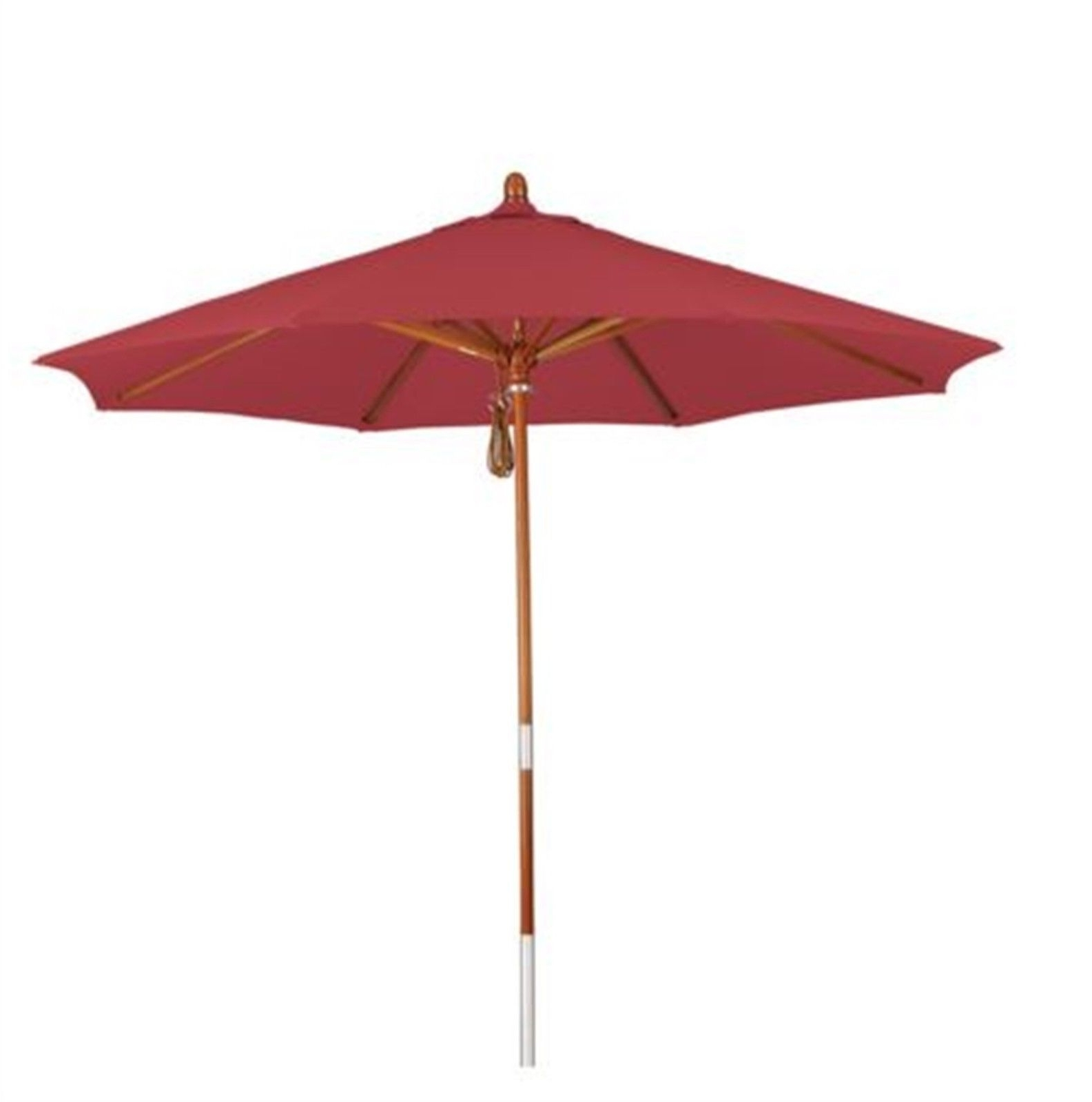 Most Up To Date Red Patio Umbrellas Inside Phat Tommy Red Market Patio Umbrella Home Decorative Furniture (View 5 of 20)