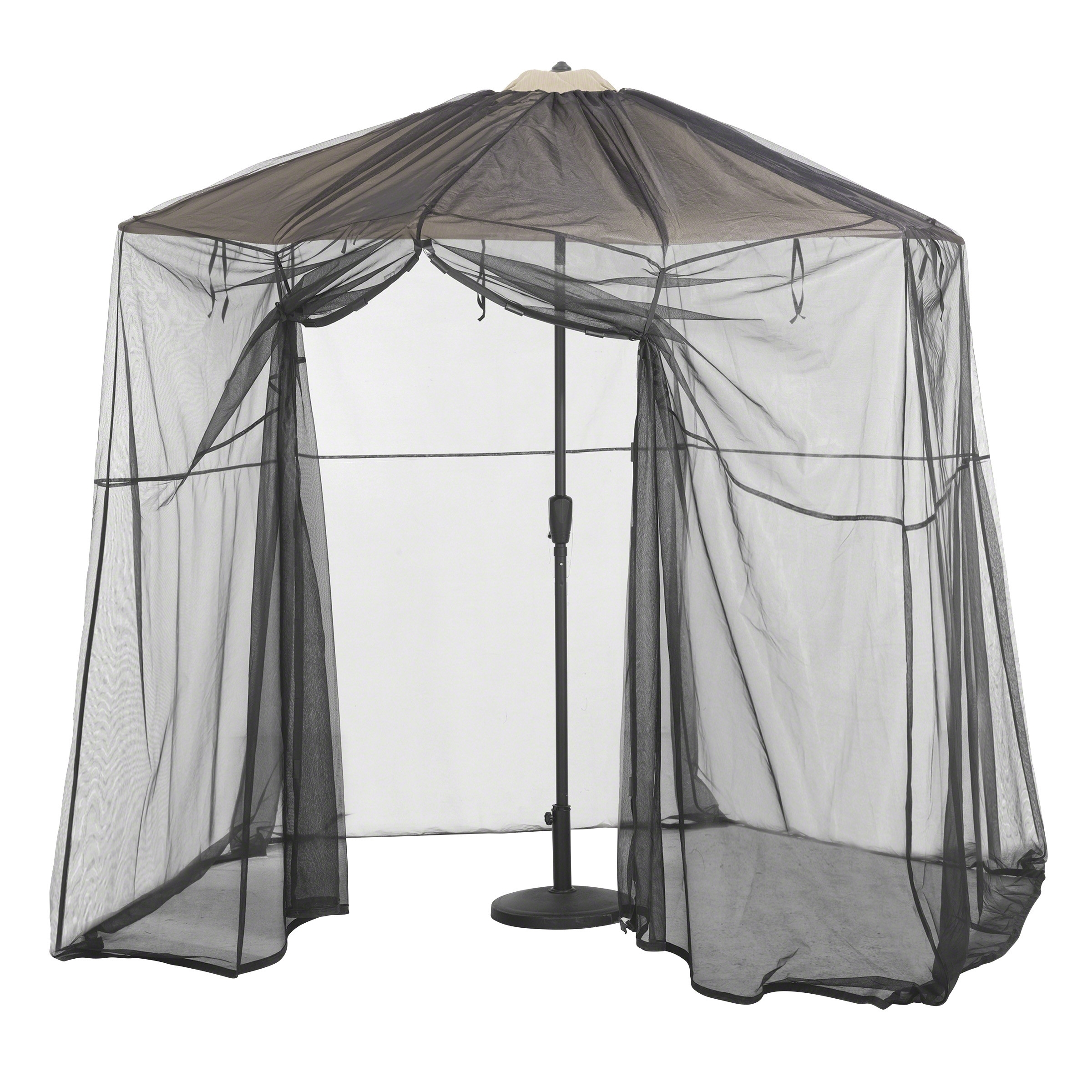 Newest Classic Accessories Patio Umbrella Mosquito Net Canpoy – Umbrella With Patio Umbrellas With Netting (Gallery 13 of 20)