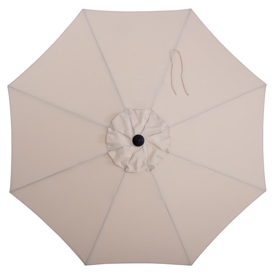 Newest Green Patio Umbrellas Pertaining To Shop Patio Umbrellas At Lowes (Gallery 10 of 20)