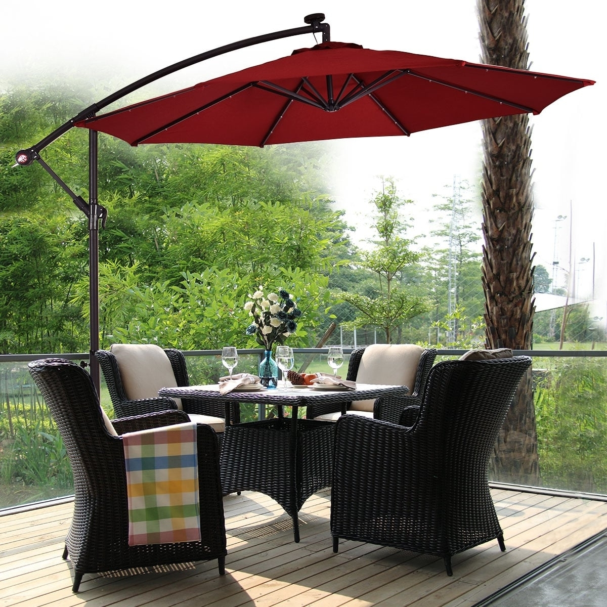 Our Best Patio For Well Known Extended Patio Umbrellas (View 14 of 20)