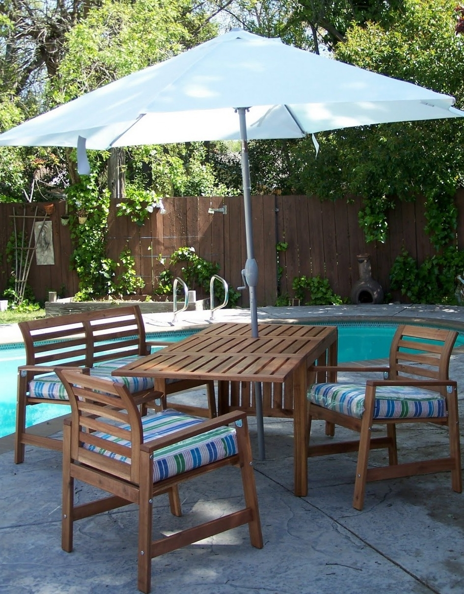 Outdoor Dining Furniture Sale Macys Patio Umbrellas Bar Height With Regard To Latest Ikea Patio Umbrellas (View 16 of 20)