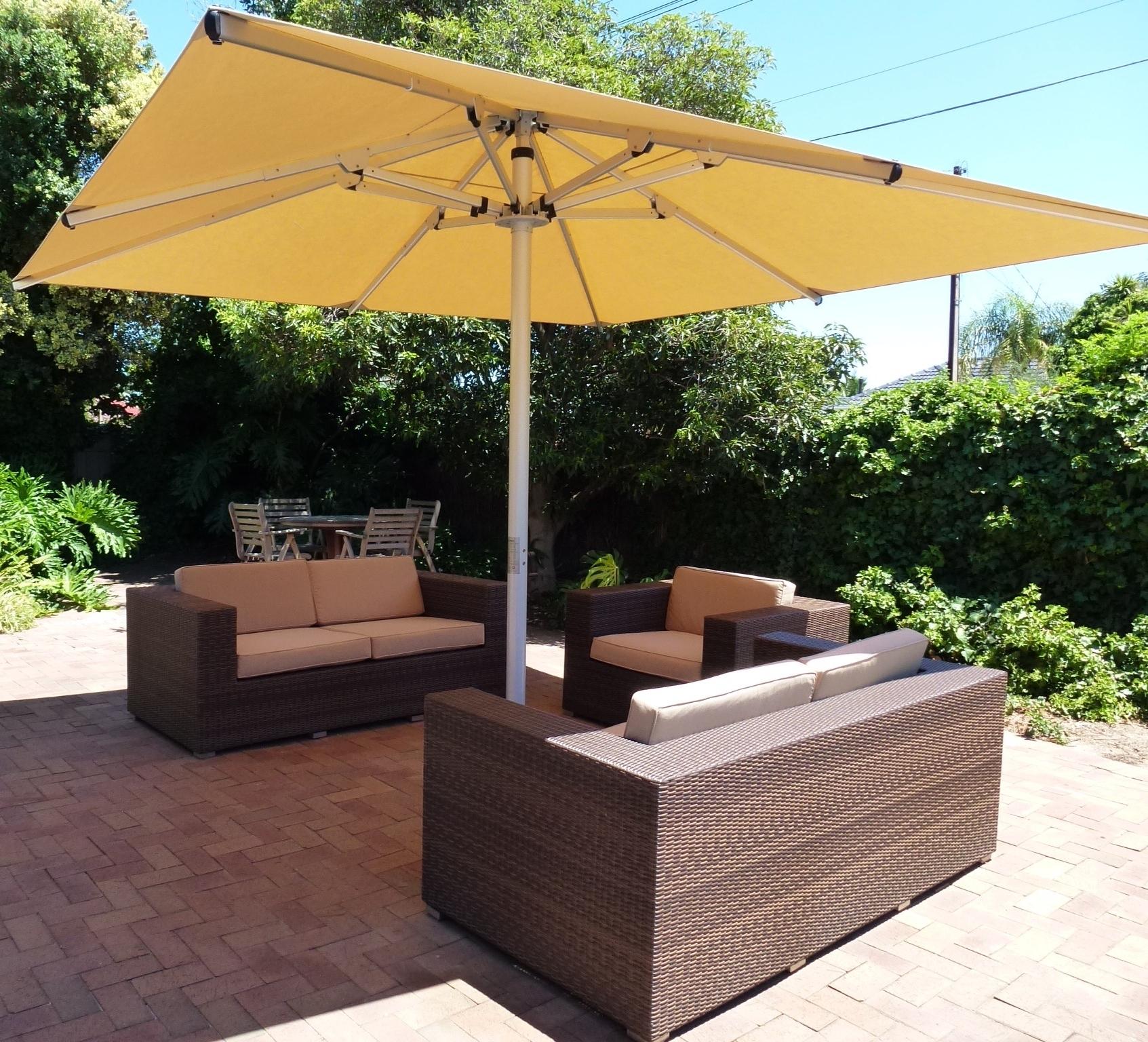 Outdoor Umbrellas For Every With Recent Heavy Duty Patio Umbrellas (View 12 of 20)