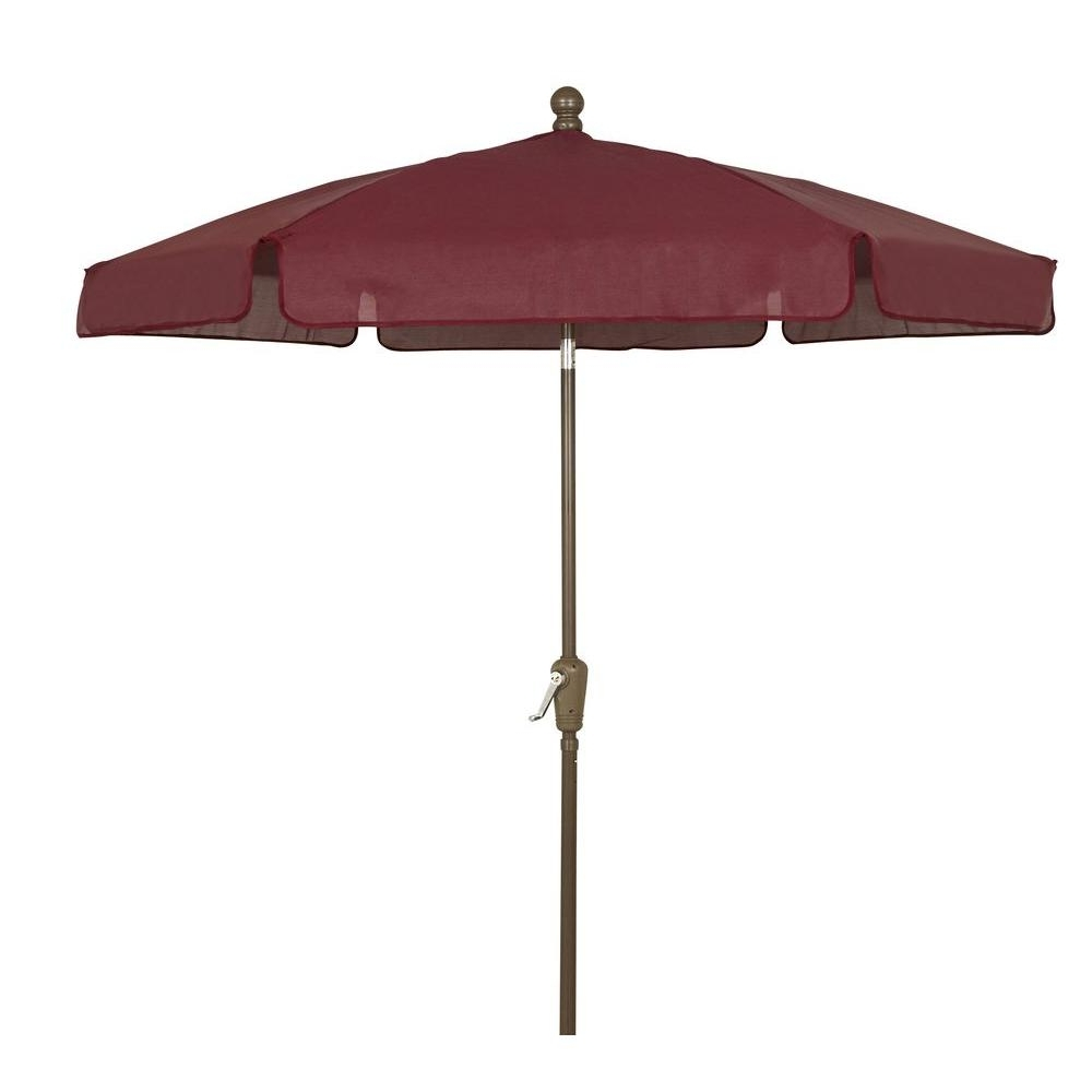 Outdoor: Wind Resistant Fiberbuilt Umbrellas With Flexible Ribs Pertaining To Most Current Menards Patio Umbrellas (View 14 of 20)