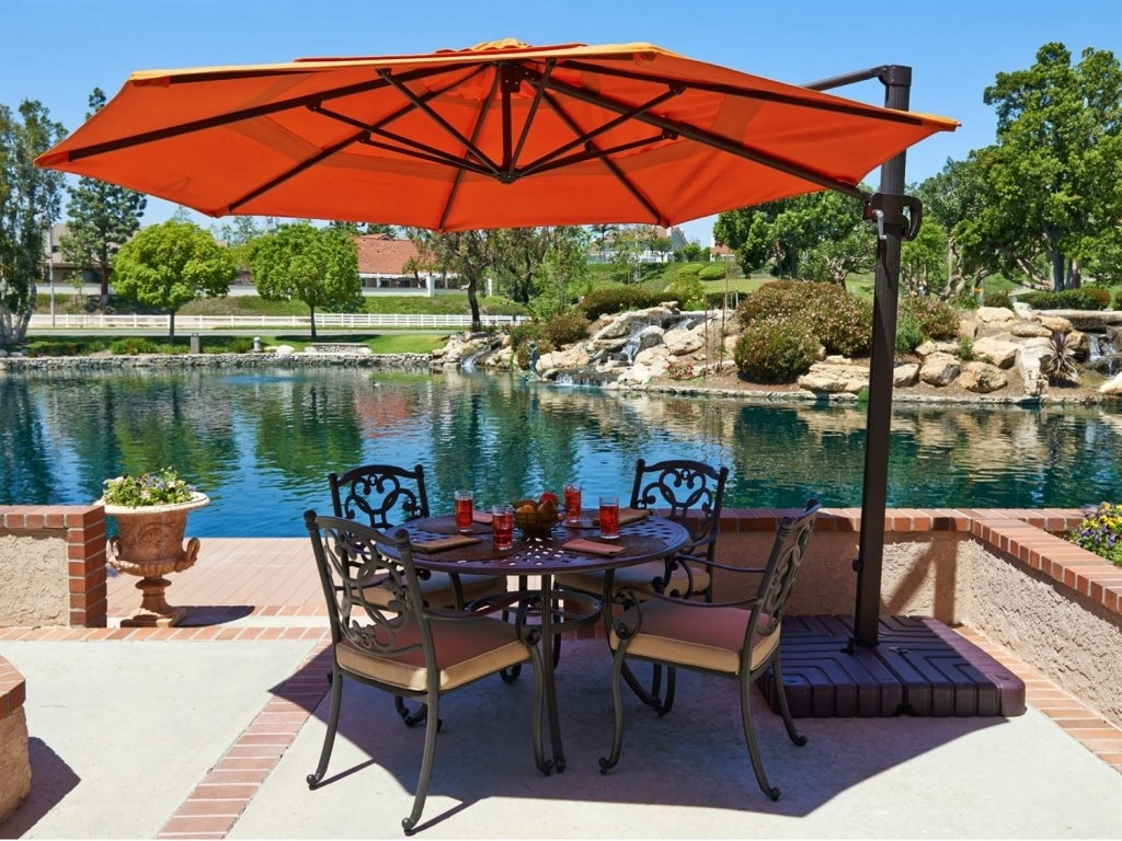 Oversized Patio Umbrellas Inside Widely Used 45 Oversized Patio Umbrellas, Large Patio Umbrellas~large Patio (View 6 of 20)