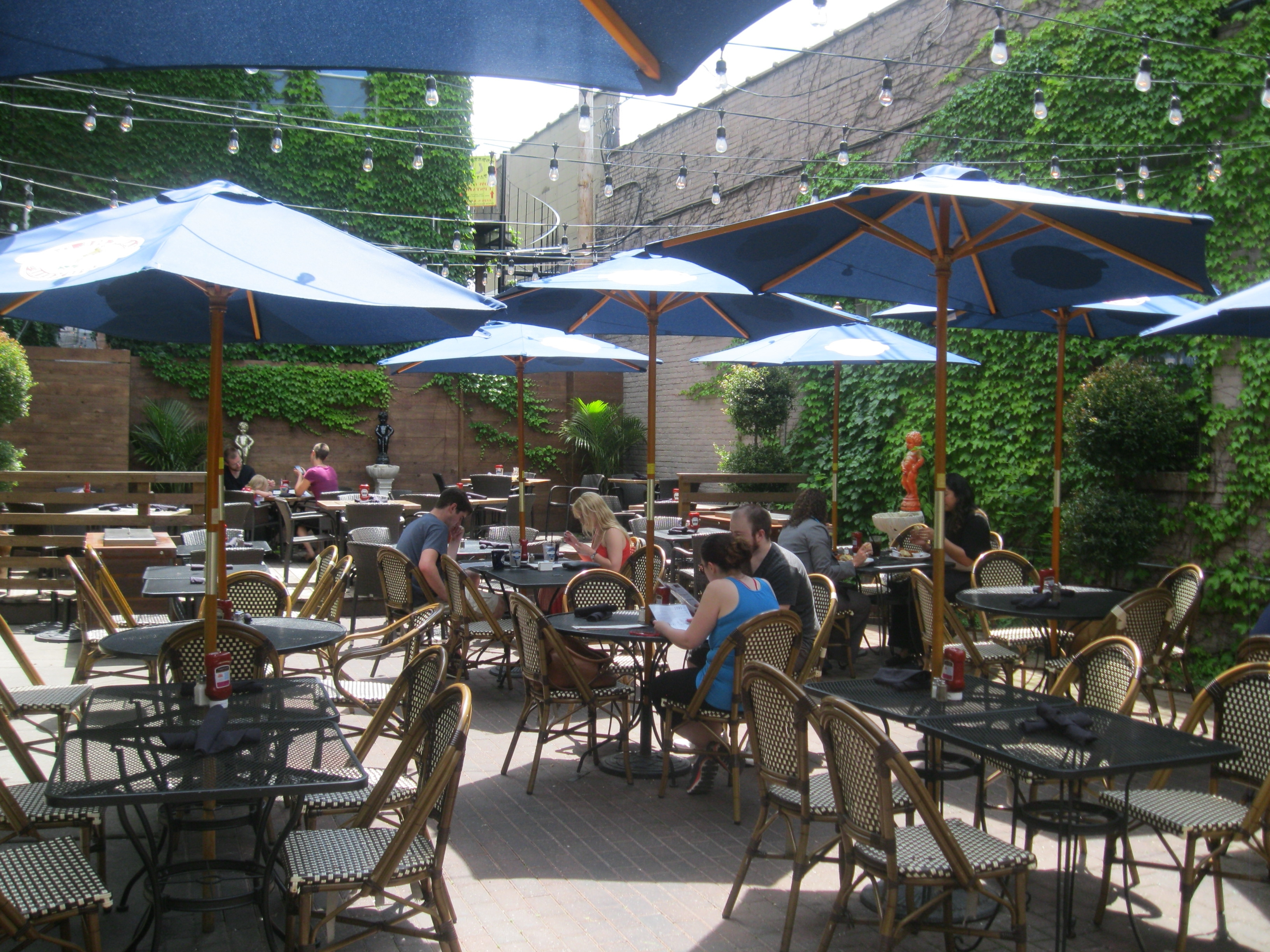 Patio Dining Umbrellas Regarding 2019 Dining: 50 Great Places For Patio Dining » Urban Milwaukee (View 11 of 20)