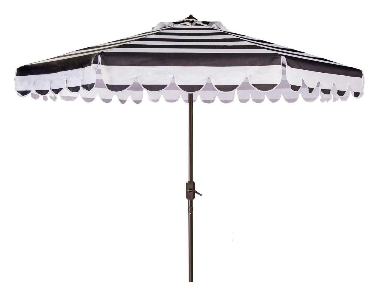 Patio Furniture – Safavieh With Regard To Striped Patio Umbrellas (View 17 of 20)