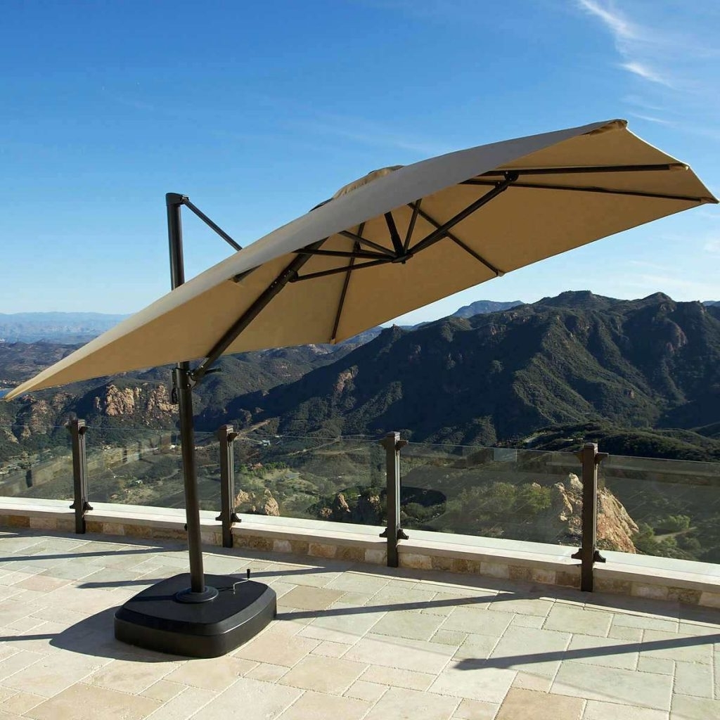 Patio Ideas ~ Big Lots Umbrellas For Patio Big Umbrellas For Patios Regarding Famous Costco Patio Umbrellas (View 12 of 20)