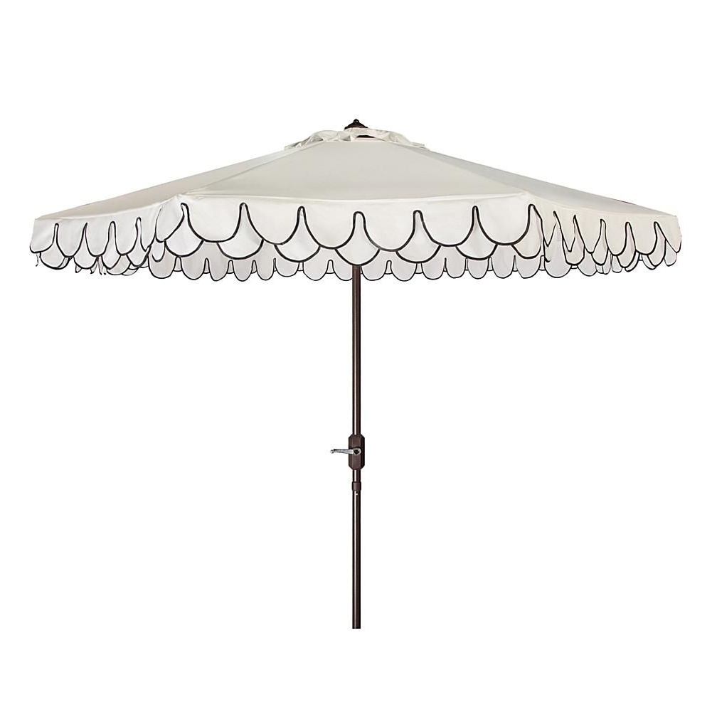 Patio Intended For Most Popular Patio Umbrellas With Valance (View 8 of 20)