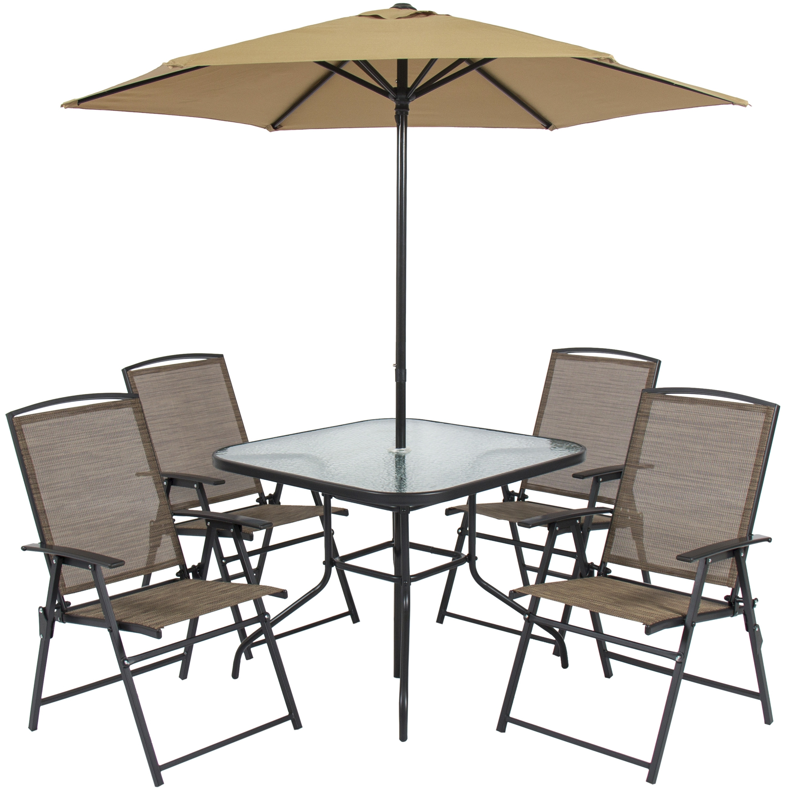 Patio Table And Chairs With Umbrellas In Most Up To Date Patio Table Chairs Umbrella Set New Best Choice Products Chair With (View 11 of 20)