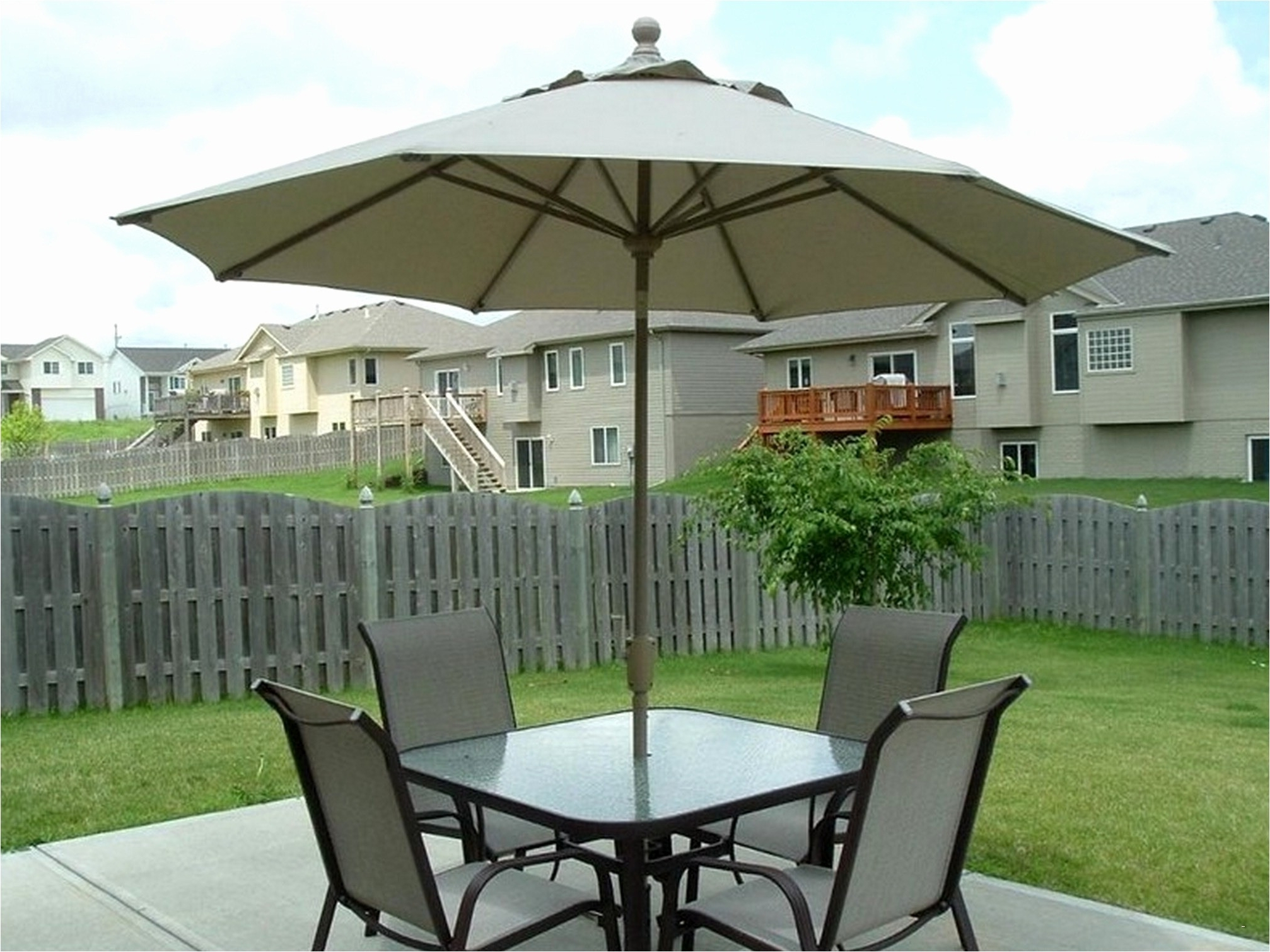 Patio Tables With Umbrella Hole Fresh Small Patio End Table Luxury Regarding Widely Used Small Patio Tables With Umbrellas Hole (View 10 of 20)
