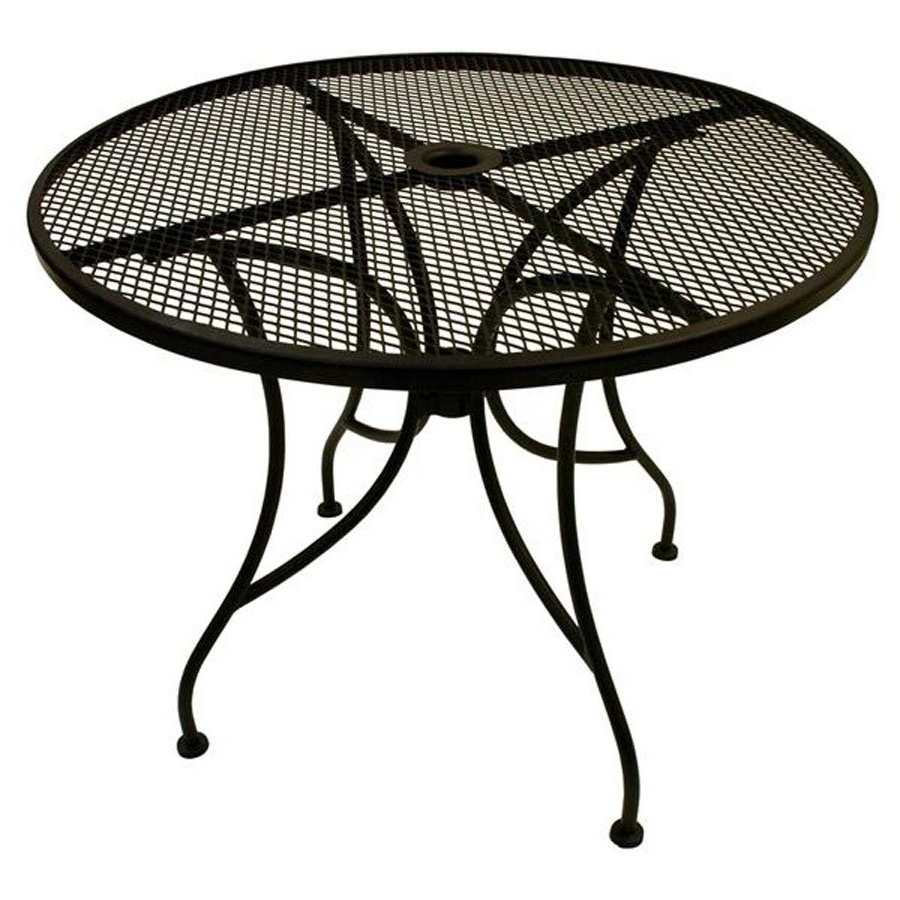 Patio Tables With Umbrella Hole Throughout Most Recently Released Tips To Choose Patio Table Umbrella — Inspire Furniture Ideas (View 12 of 20)