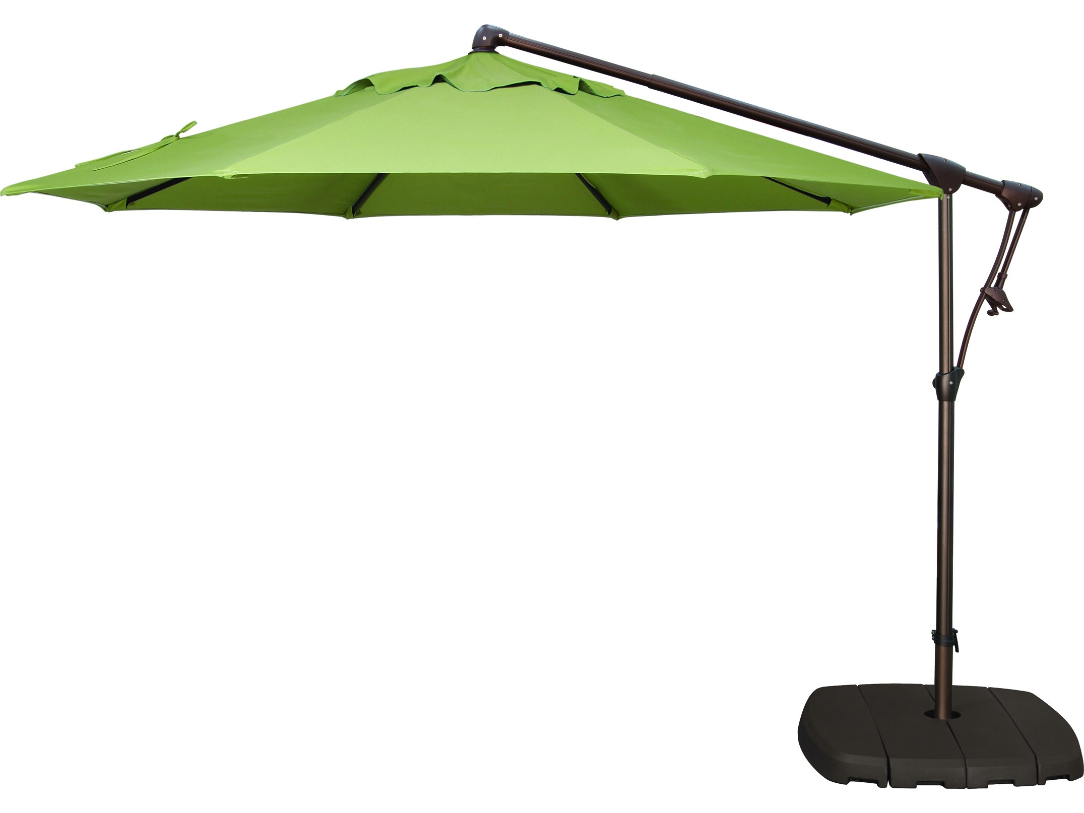 Patio Umbrella Base With Wheels Popular Metal Patio Umbrellas With Regarding Popular Patio Umbrellas With Wheels (View 10 of 20)