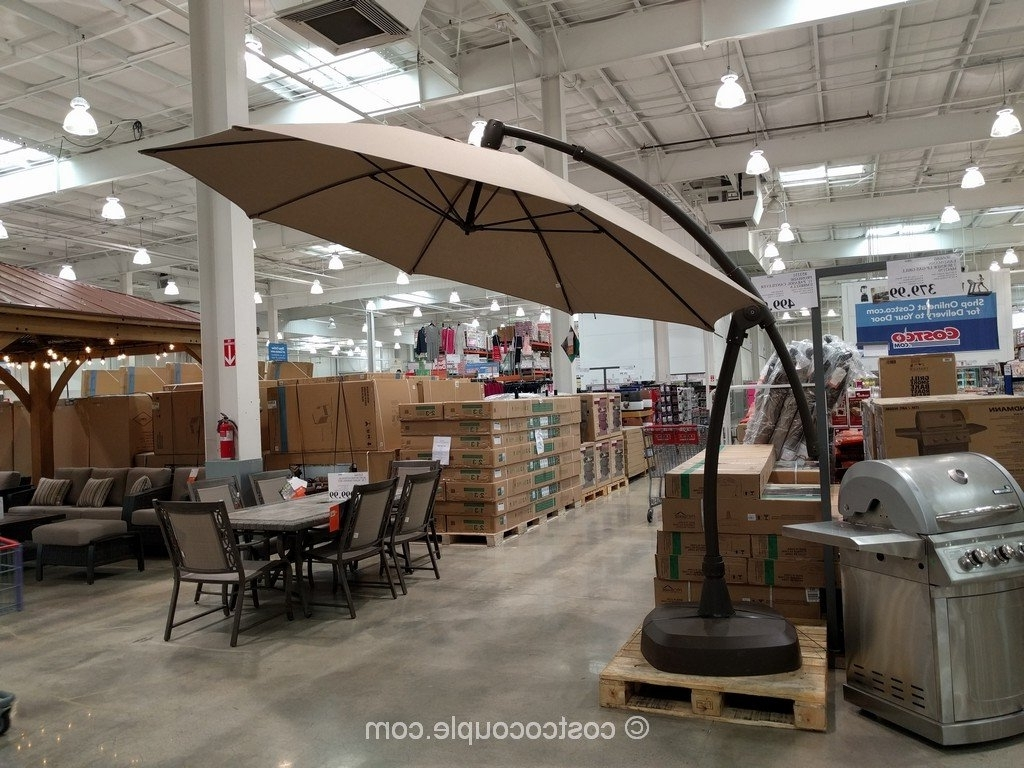 Patio Umbrellas At Costco With Regard To Most Recent Best Patio Umbrellas (View 18 of 20)