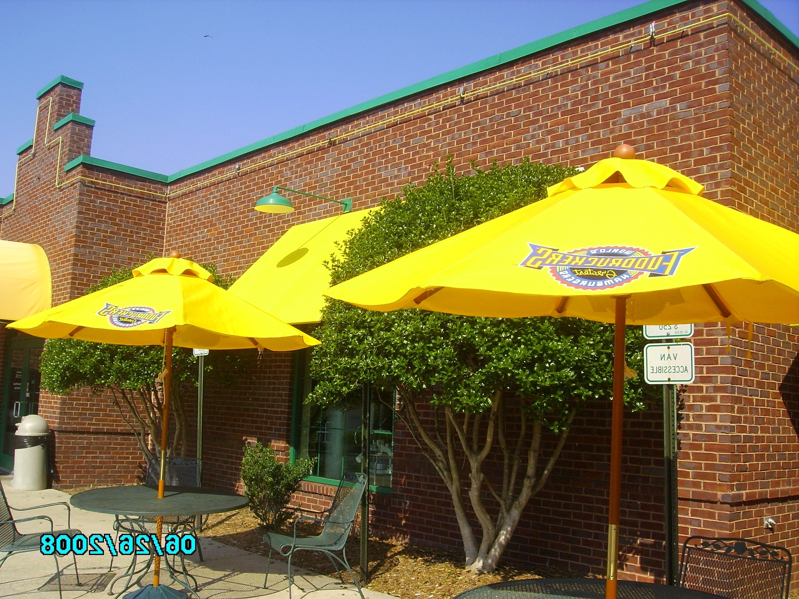 Patio Umbrellas Custom Made Commercial Grade Available With Inside Trendy Custom Sunbrella Patio Umbrellas (View 3 of 20)