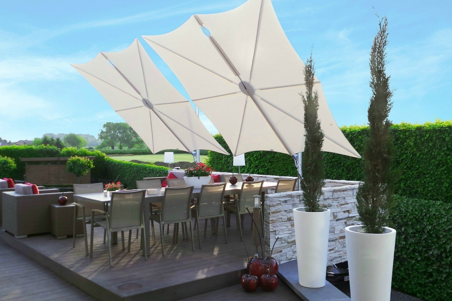 Patio Umbrellas For High Wind Areas In 2018 Lovely High Wind Resistant Patio Umbrella F48X About Remodel Rustic (View 11 of 20)