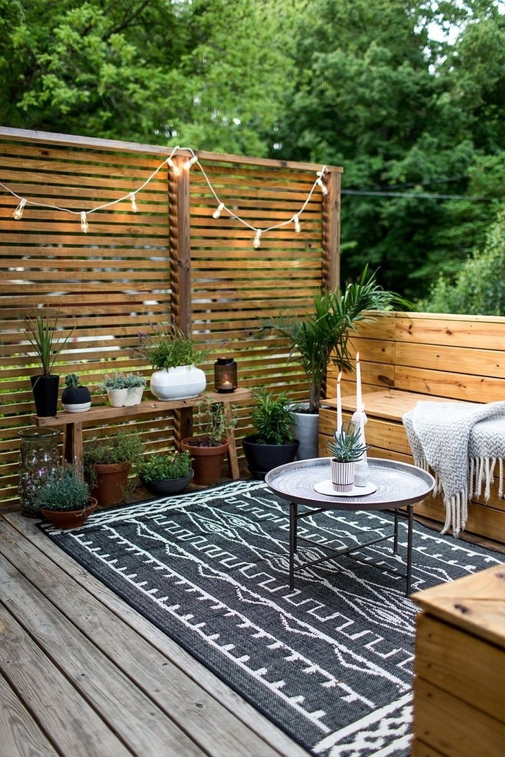 Patio Umbrellas For Small Spaces For Favorite Small Outdoor Spaces Small Decks Random 2 Small Deck Patio Furniture (View 10 of 20)