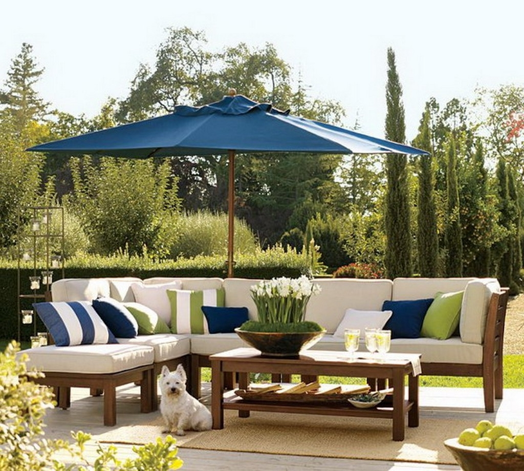 Patio Umbrellas For Tables Intended For Widely Used Collection In Patio Umbrella Table Patio Tables With Umbrellas All (View 13 of 20)