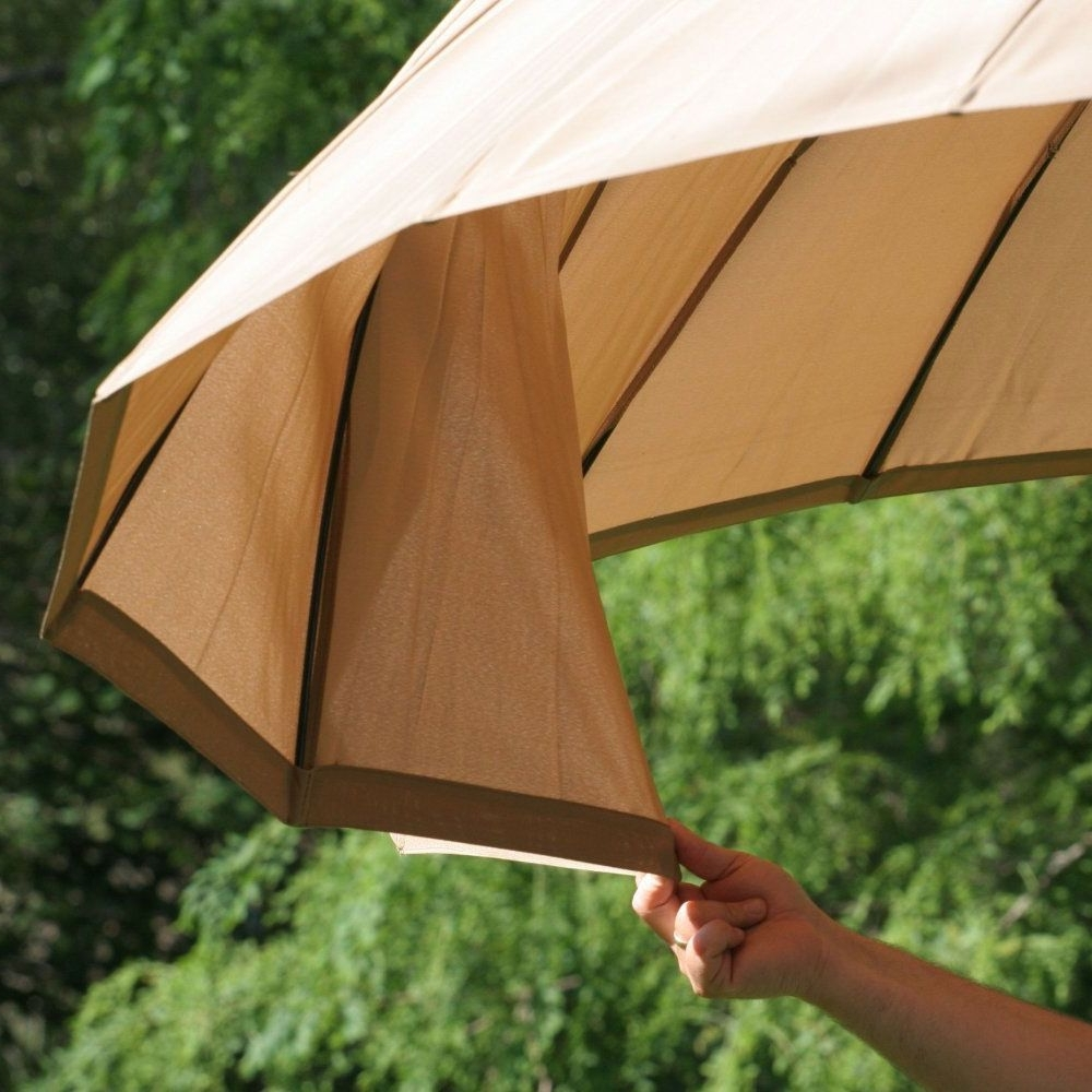 Patio Umbrellas For Windy Locations In Best And Newest Best Patio Umbrella For Wind Http://www (View 2 of 20)