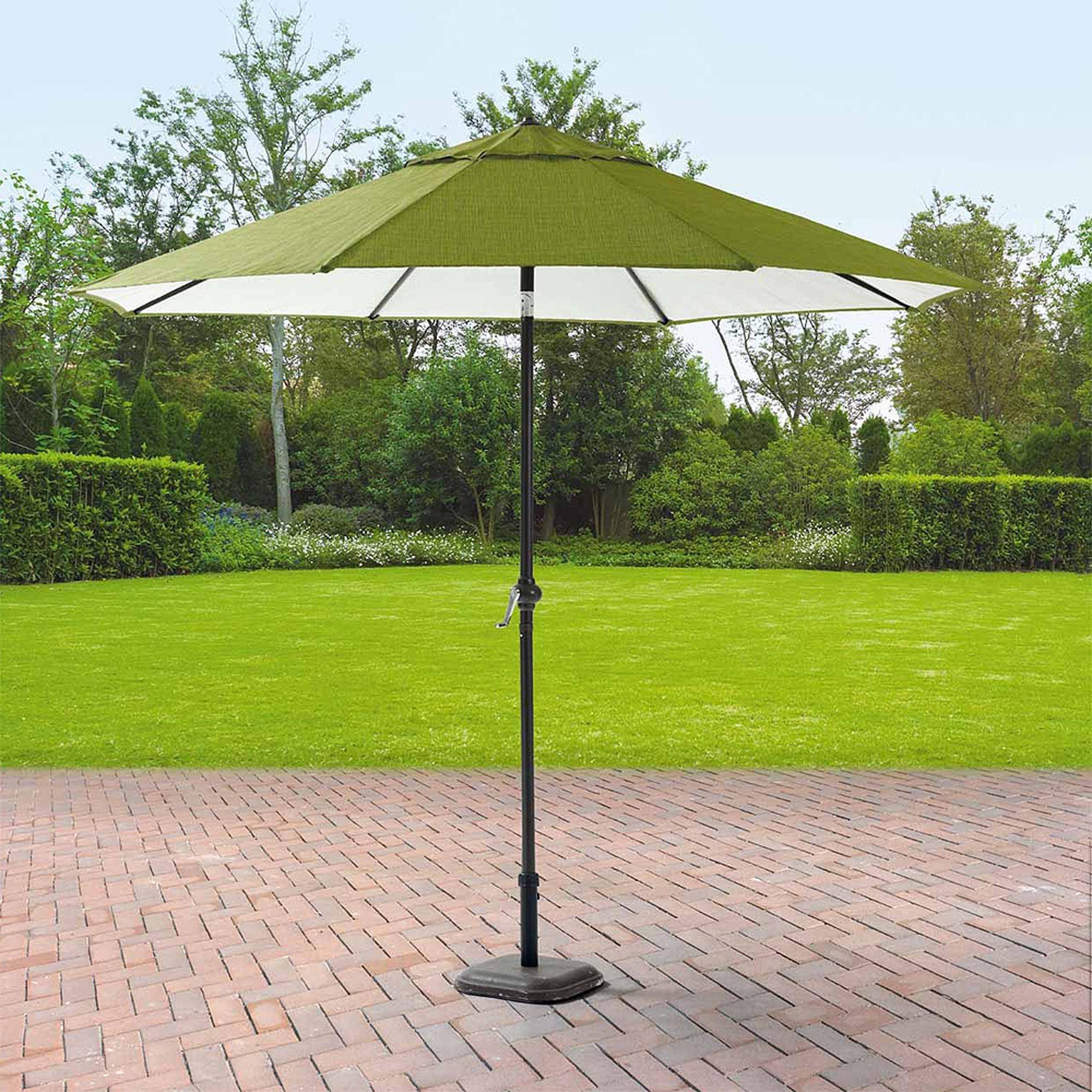 Patio Umbrellas Walmart – Home Design Ideas Regarding Current Sunbrella Patio Umbrellas At Walmart (View 4 of 20)