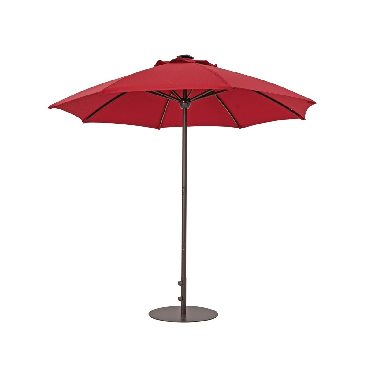 Patio Umbrellas With Solar Lights (View 10 of 20)