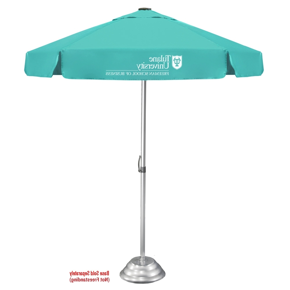 Patio Umbrellas With Valance In Well Known The Vented Bistro Patio Umbrella (View 15 of 20)