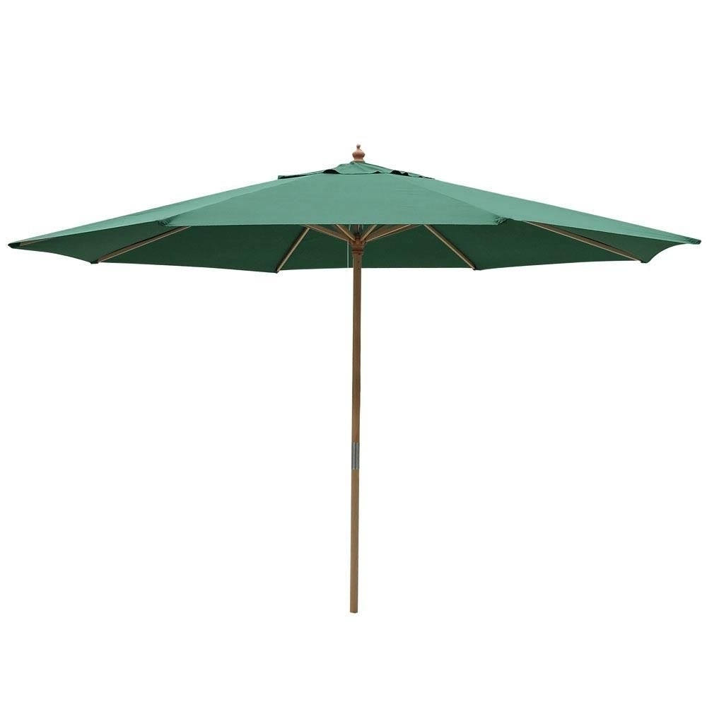 Patio Umbrellas Within 2018 Wooden Patio Umbrellas (View 14 of 20)