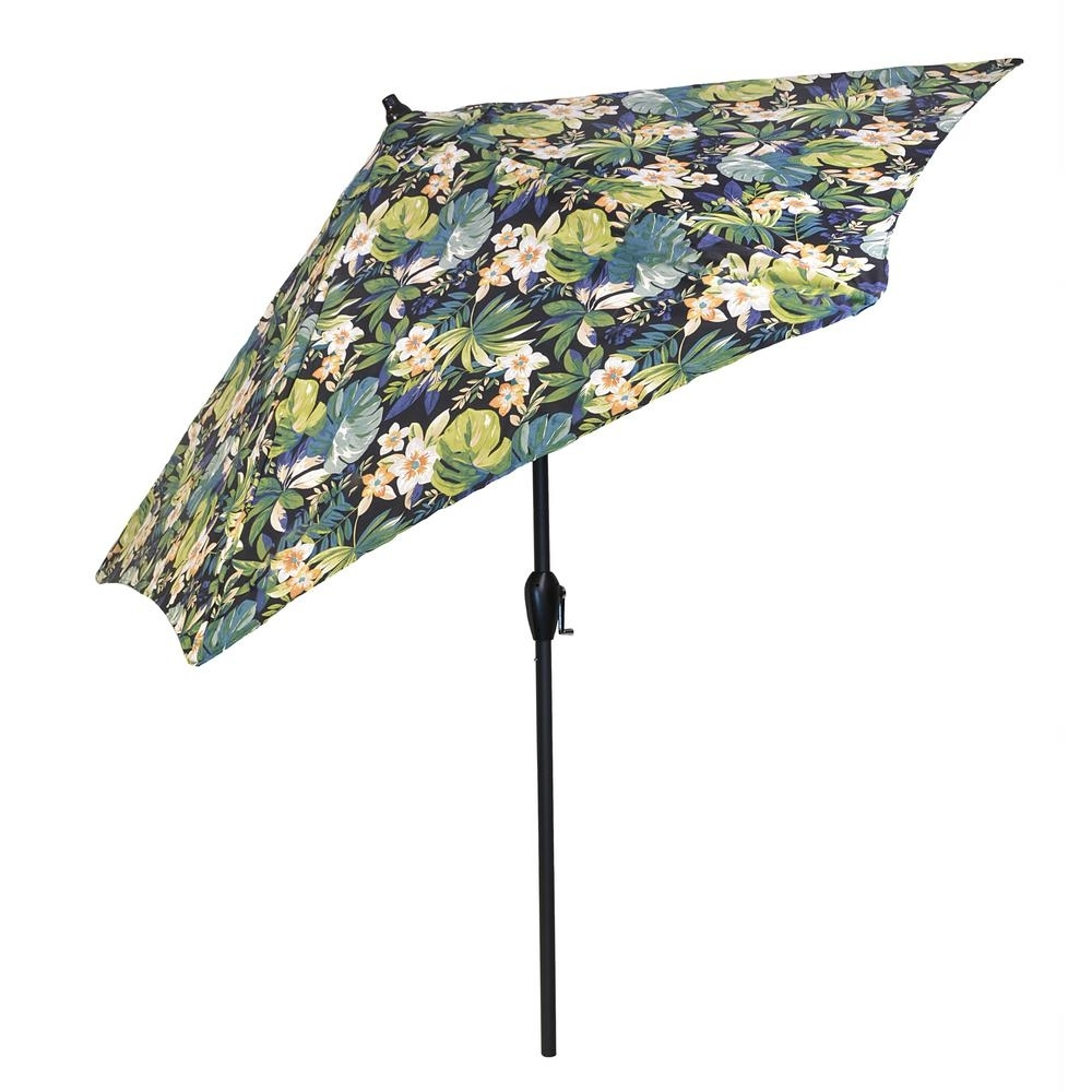 Featured Photo of Patterned Patio Umbrellas